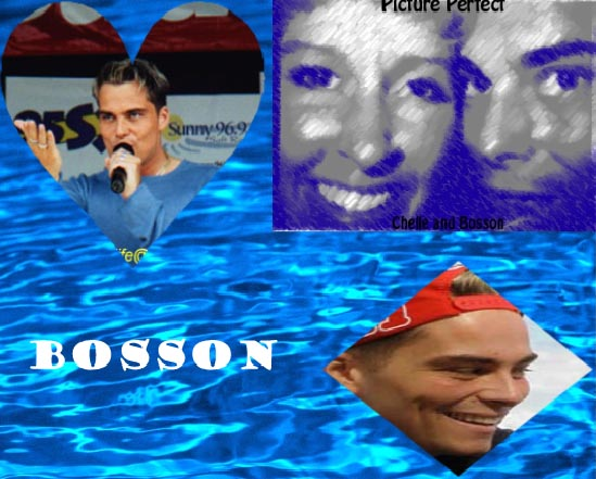 Bosson has it all!  Talent, Personality and Looks...